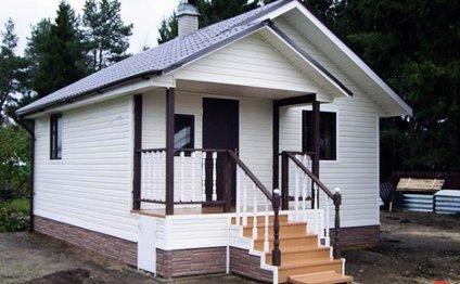 недорогой дом на даче