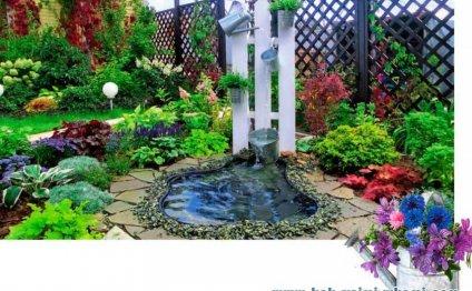 Идея для оформления сада